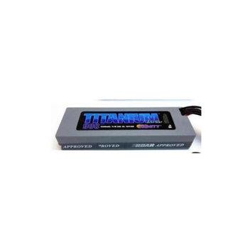 Trinity Titan Racing 4500mAh LiPo, 11.1v, 3s 50c: Bullet Multi-Colored