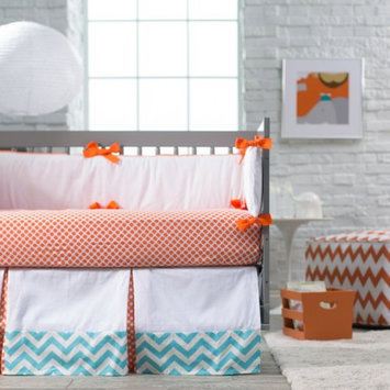 New Arrivals Inc. New Arrivals Orange Crush Crib Bedding Set