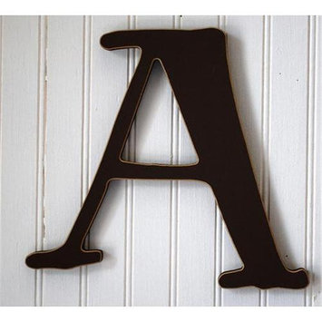 New Arrivals Chocolate Brown Capital Letters