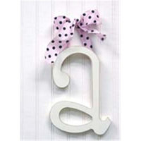New Arrivals Newarrivals WL9A-036 9 in. Hanging Letters A