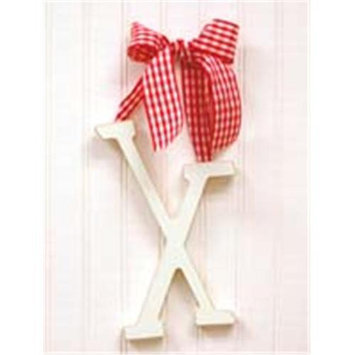 New Arrivals Newarrivals WL9X-036 9 in. Hanging Letters X