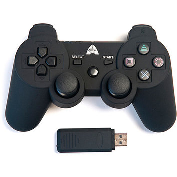 Arsenal Gaming ap3con7 PS3 Wireless Controller Rubberized - Black