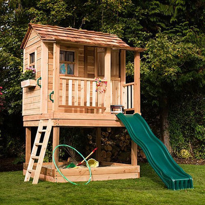 Outdoor Living Today 6 x 6 Little Squirt Playhouse