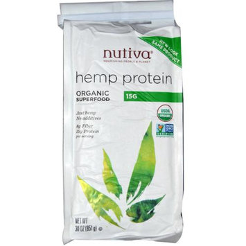 Nutiva - Organic Hemp Protein Powder - 30 oz.