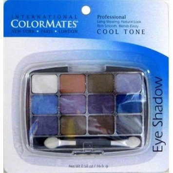 COLOR MATES INTERNATIONAL PROFESSIONAL EYE SHADOW COOL TONE