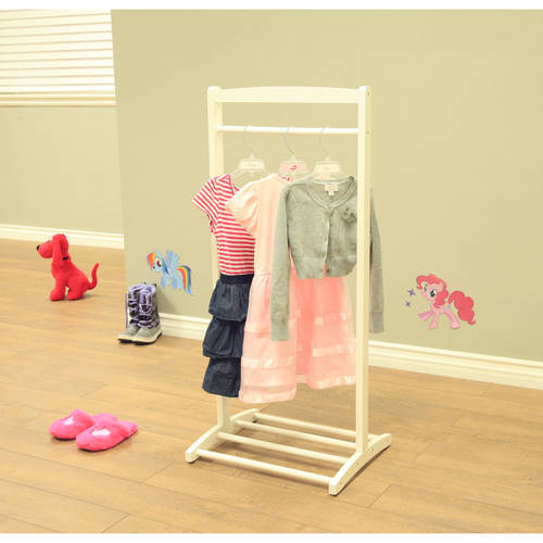 Megaware Furniture White Home Craft Kids Clothes Rack