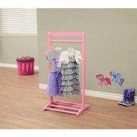 Megaware Furniture Pink Home Craft Kids Clothes Rack
