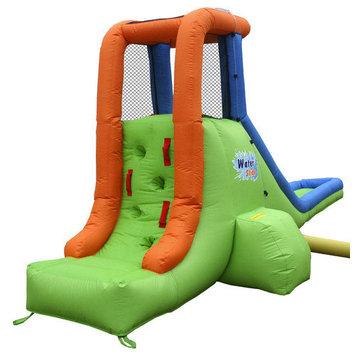 Bounceland Inflatable Single Water Slide - Green/Blue/Orange