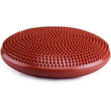 tural Fitness Balance Disc with Pump in Red Rock