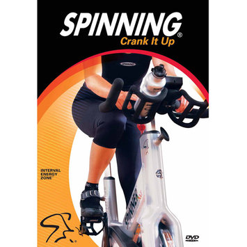 Crank It Up Spinning DVD
