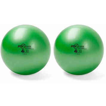 Mad Dogg Athletics Inc Peak Pilates Weighted Balls, 4 lbs, Set of 2