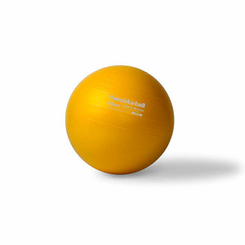 Mad Dogg Athletics Inc Resist-A-Ball Stability Ball 45cm -Yellow
