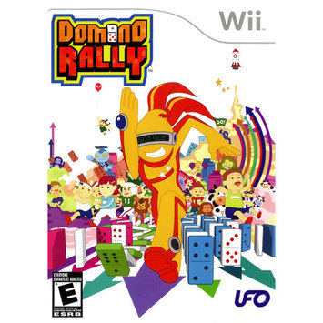 Tommo Inc. Domino Rally Nintendo WII New