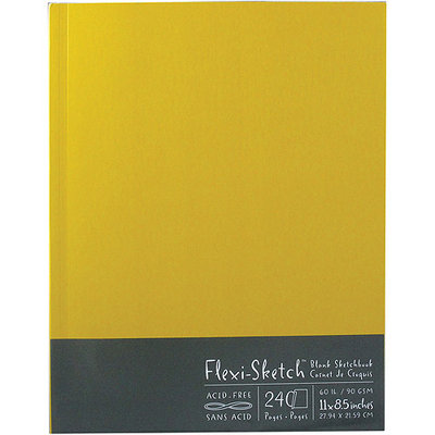 Global Art Flexi-Sketch Blank Sketch Book, 11