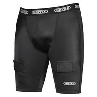 Battle Sports Science NuttyBuddy Protective Cup & Hockey Compression Short Combo, Hog (M)
