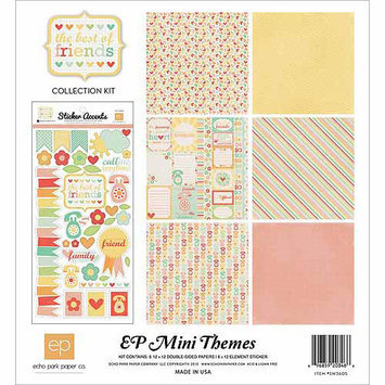 Echo Park Paper The Best Of Friends Collection Kit 12 X12