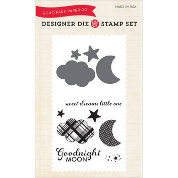Echo Park Paper Echo Park Die & Stamp Combo Set-Goodnight Moon
