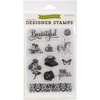 Echo Park Paper Echo Park Stamps 4inX6inRoses