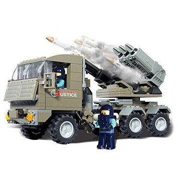 Brictek 15017 Rocket Launcher Set BICY5017 BRICTEK BUILDING BLOCKS