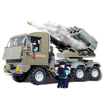 Brictek 15017 Rocket Launcher Set BICY5017 BRICTEK BUILDING BLOCKS