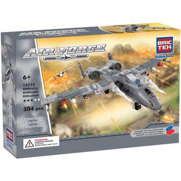 BRICTEK BUILDING BLOCKS 15713 Air Force Fighter Plane 384pcs BICY5713
