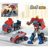 Heroes Robots 3 In 1 Law And Order - Building Set by Brictek (18002) BICY8002 BRICTEK
