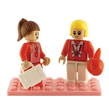 Brictek 2 Piece School Teacher Set BICY9201 BRICTEK BUILDING BLOCKS