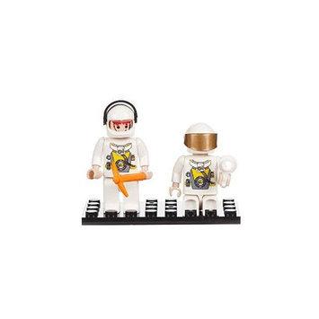 BRICTEK BUILDING BLOCKS 19209 Mini Figurines Space Team (2) BICY9209