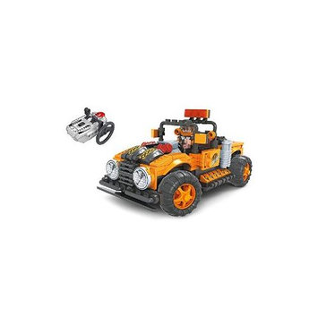 BRICTEK BUILDING BLOCKS 20212 R/C Off-Road Truck Orange 252pcs BICY0212