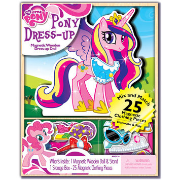 Artistic Studios My Little Pony Magnetic Wooden Pony Dress-Up - 25 pc
