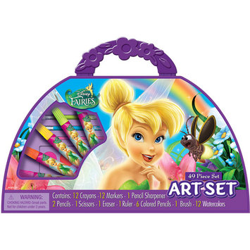 Artistic Studios Disney Fairies Take-a-long Purse Art Set