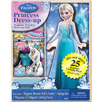 Artistic Studios Disney Frozen Elsa 25-Piece Wooden Doll Set