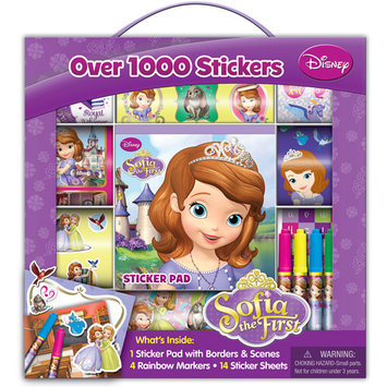 Artistic Studios Sofia the First Sticker Box with Handle