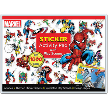 Artistic Studios Marvel Sticker Activity Pad