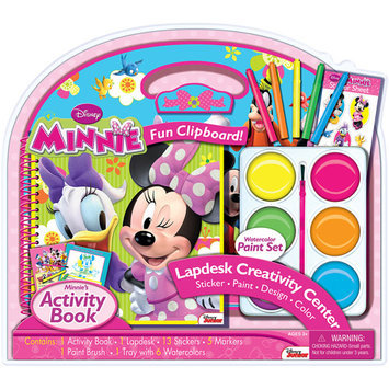 Artistic Studios Minnie Lapdesk with Jumbo Paints