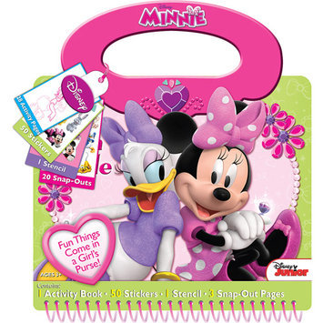 Artistic Studios Minnie Style Activity Book Tote
