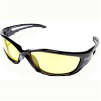Wolf Peak International SW112 Safety Glass Black/Yellow Lens Dakura Series - Each