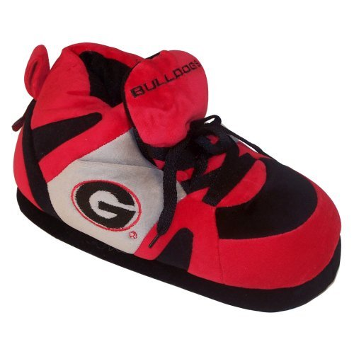 Comfy Feet NCAA Sneaker Boot Slippers - Georgia Bulldogs