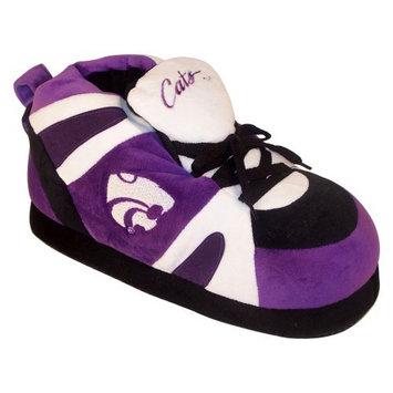 Comfy Feet NCAA Sneaker Boot Slippers - Kansas State Wildcats
