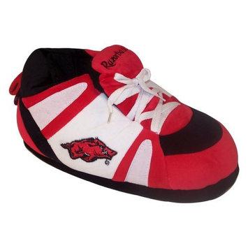 Comfy Feet NCAA Sneaker Boot Slippers - Arkansas Razorbacks, Small