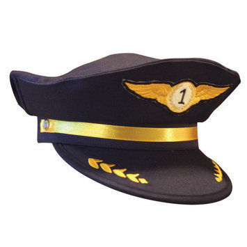 Aeromax Toys Aeromax AAP-CAP Jr. Airline Pilot Cap - Cap Only