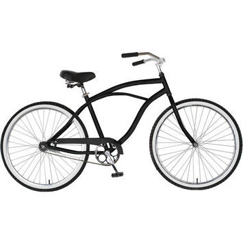Cycle Source Group, Llc Cycle Force Group Cycle Force 26 inch Mens Cruiser Bike, Silver