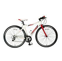 Tour De France Packleader Pro Bike White/Red 45cm
