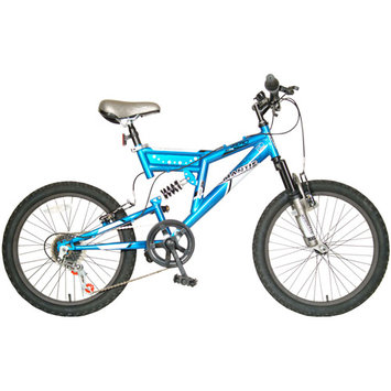 Mantis Zero Full Suspension Bicycle, 20-Inch