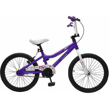 Cycle Force Group Piranha 20 inch Girl's Young Lady Bike - Purple