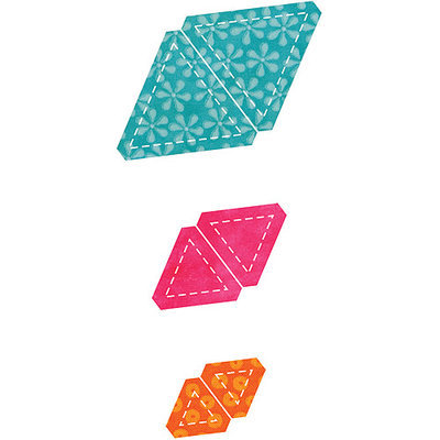 Accuquilt GO! Fabric Equilateral Triangle Cutting Die