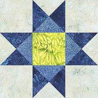 Accuquilt Go Go! Fabric Cutting Die-Ohio Star -12