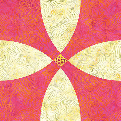 Accuquilt Go Go! Fabric Cutting Die-Flowering Snowball -12