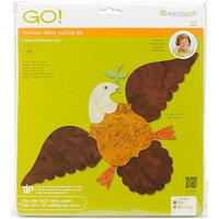 Accuquilt Go Go! Fabric Cutting Dies It Fits-Eagle