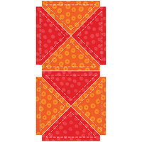 Accu-cut Systems GO! Fabric Cutting Dies-Quarter Square -3